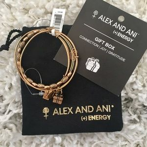 Alex and Ani Gift box collection bracelets